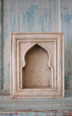 Marble Shrine Niche, Udaipur <b>SOLD<b>